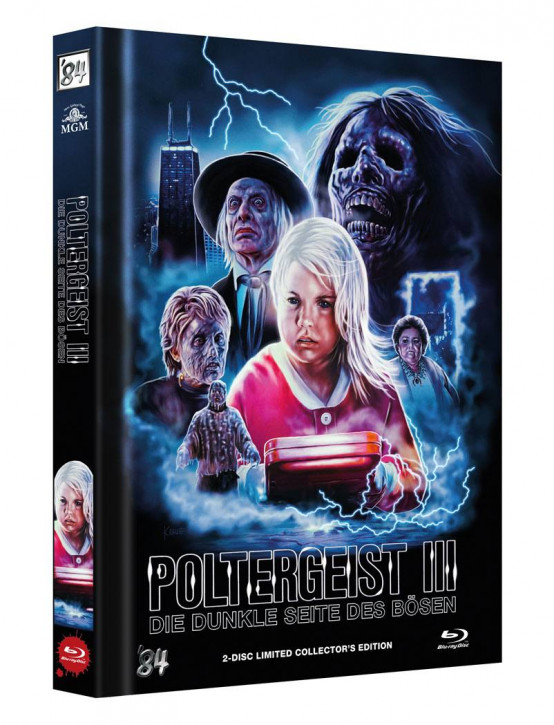 Poltergeist III: Die dunkle Seite des Bösen - Limited Collector's Edition - Cover C [Blu-ray+DVD]