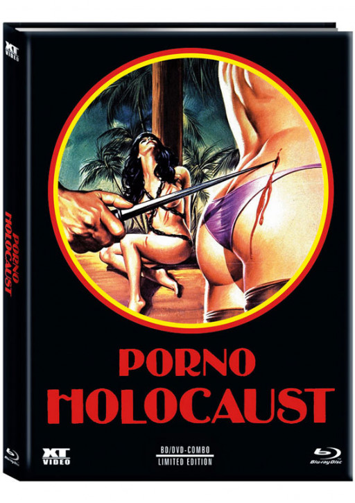 Porno Holocaust - Limited Mediabook - Cover B [Blu-ray+DVD]
