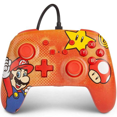 PowerA - Wired Controller - Super Mario [Nintendo Switch]