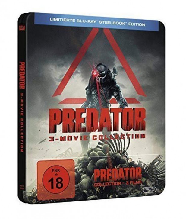 Predator - 3-Movie Collection Limited Steelbook Edition [Blu-ray]
