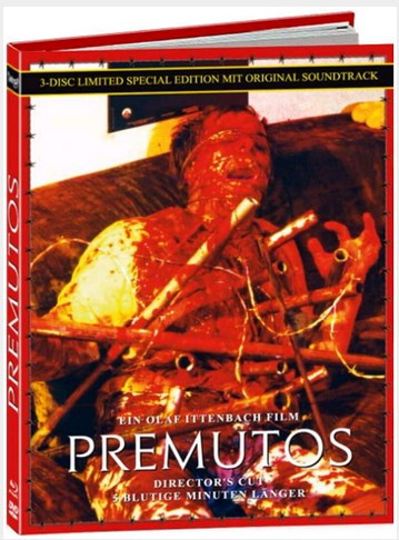 Premutos - Mediabook - Cover B [Blu-ray+DVD+CD]