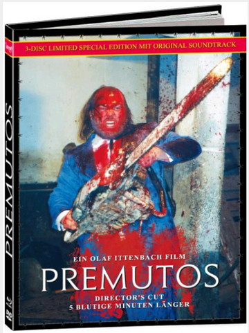 Premutos - Mediabook - Cover C [Blu-ray+DVD+CD]