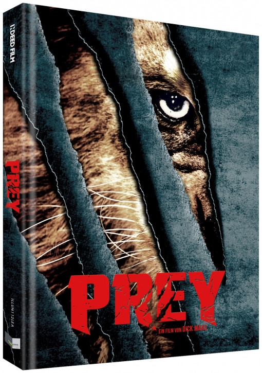 Prey - Beutejagd - Limited Collectors Edition - Cover A [Blu-ray+DVD]