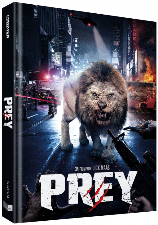 Prey - Beutejagd - Limited Collectors Edition - Cover B [Blu-ray+DVD]