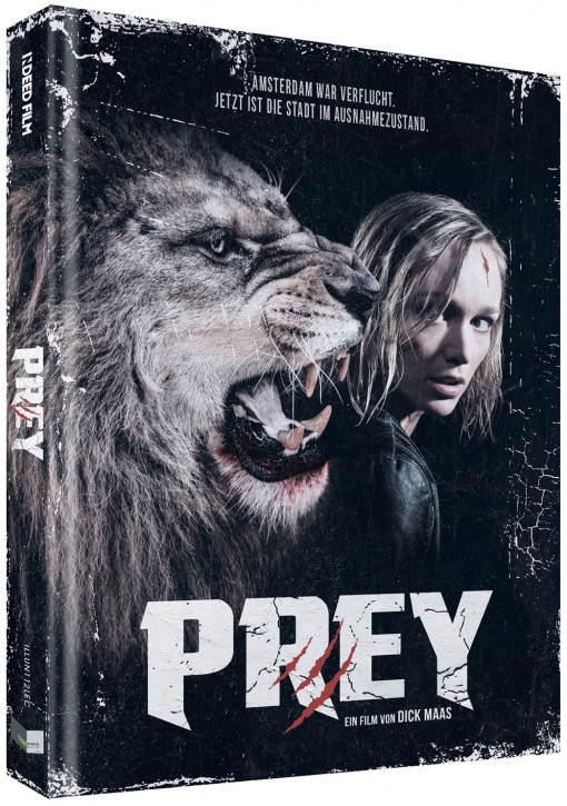 Prey - Beutejagd - Limited Collectors Edition - Cover C [Blu-ray+DVD]