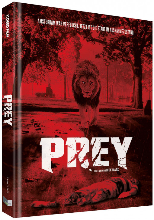 Prey - Beutejagd - Limited Collectors Edition - Cover E [Blu-ray+DVD]