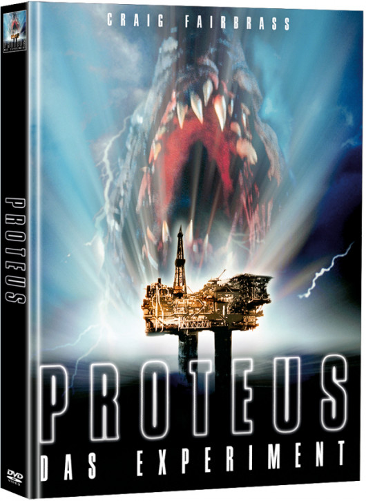 Proteus - Das Experiment - Limited Mediabook Edition (Super Spooky Stories #47) [DVD]