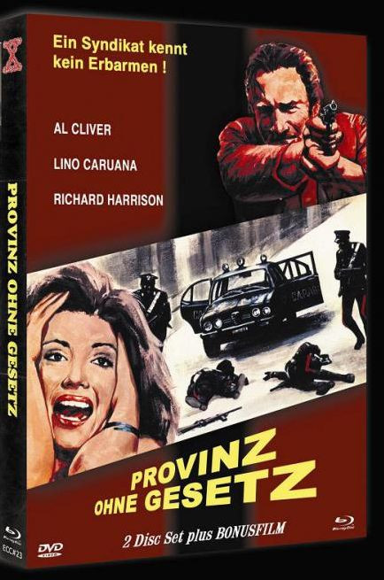Provinz ohne Gesetz - Eurocult Collection #023 - Cover A [Blu-ray+DVD]