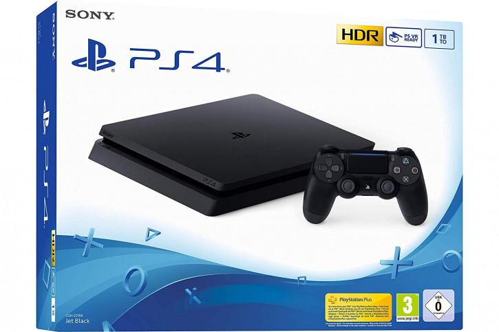 PlayStation 4 Slim - Konsole (1TB)