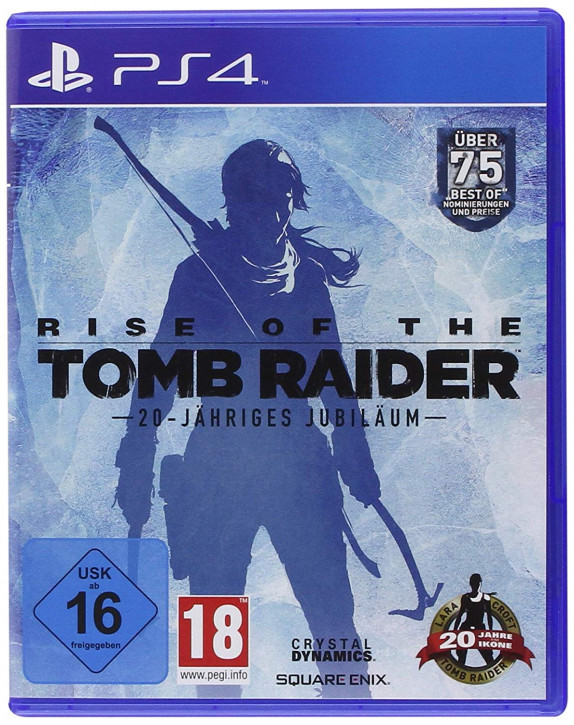 Rise of the Tomb Raider 20-Jähriges Jubiläum - Standard Edition - [PlayStation 4]