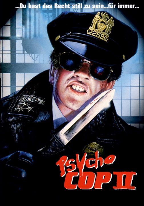 Psycho Cop 2 - Limited Mediabook Edition - Cover A [Blu-ray+DVD]