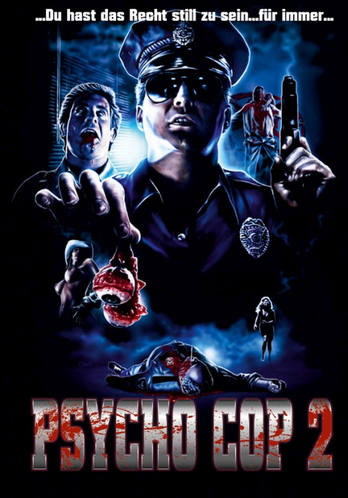 Psycho Cop 2 - Limited Mediabook Edition - Cover B [Blu-ray+DVD]