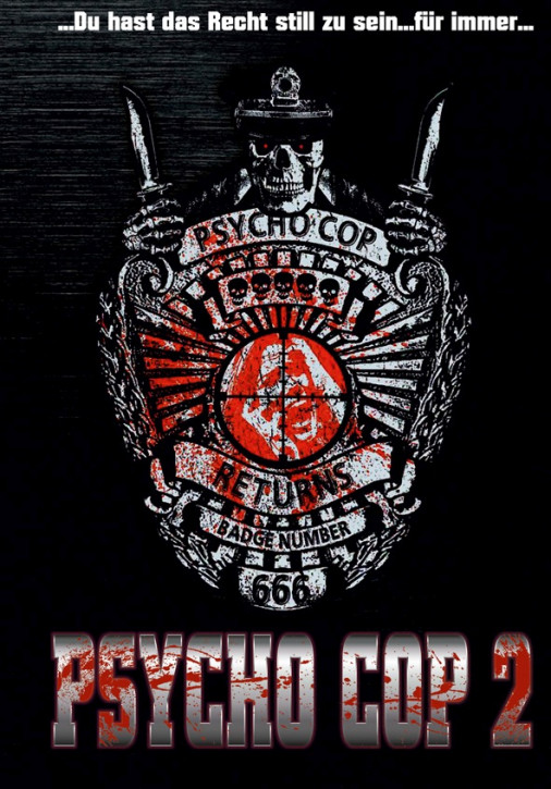 Psycho Cop 2 - Limited Mediabook Edition - Cover C [Blu-ray+DVD]