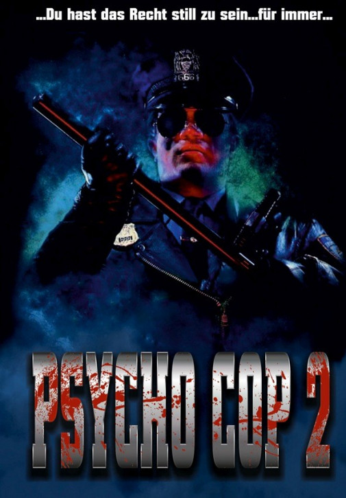 Psycho Cop 2 - Limited Mediabook Edition - Cover D [Blu-ray+DVD]