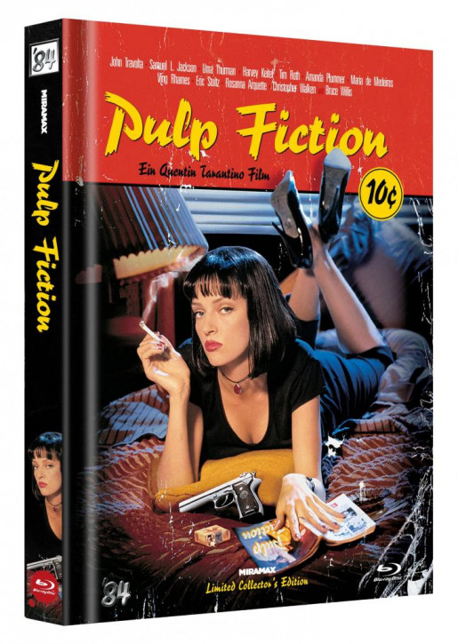Pulp Fiction - Limited Collector's Edition - Cover C [Blu-ray]