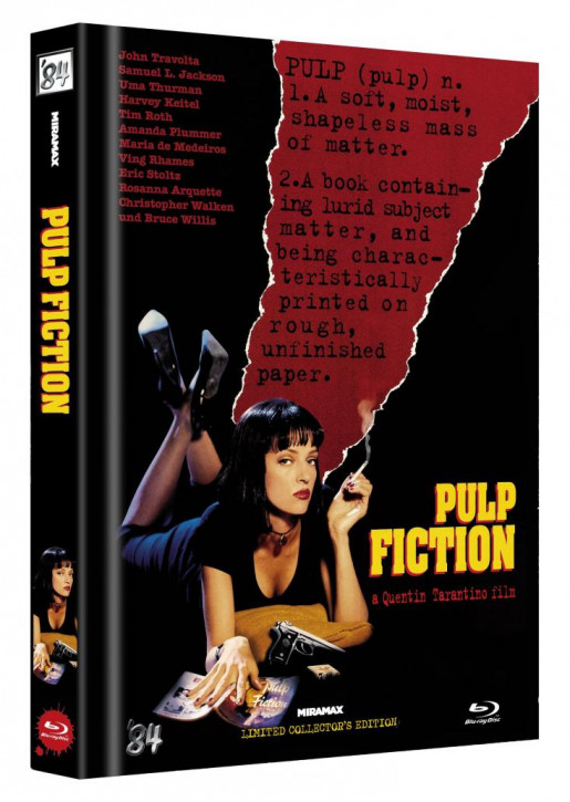 Pulp Fiction - Limited Collector's Edition - Cover D [Blu-ray]