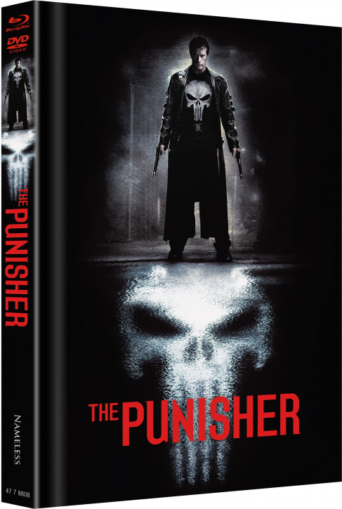 The Punisher - Limited Mediabook Edition - Cover A [Blu-ray+DVD]