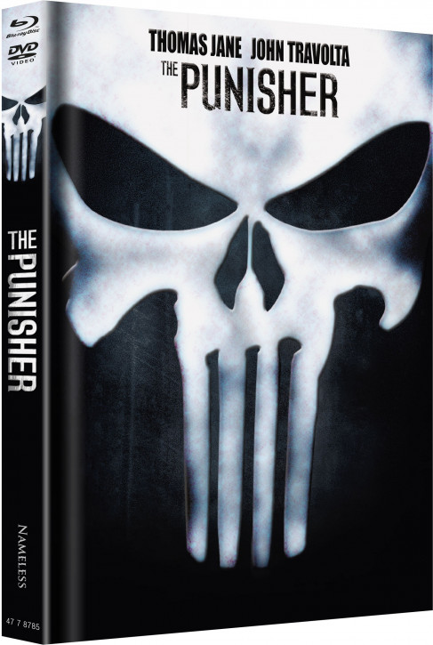 The Punisher - Limited Wattiertes Mediabook Edition - Cover G [Blu-ray+DVD]