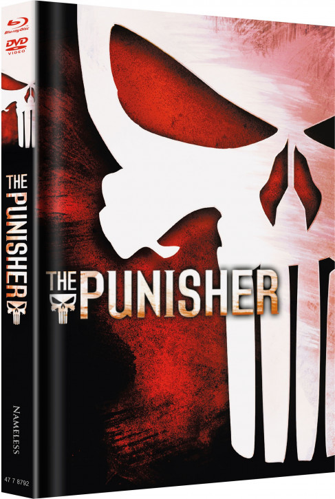 The Punisher - Limited Mediabook Edition - Cover C [Blu-ray+DVD]