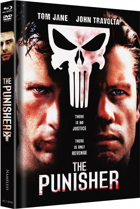 The Punisher - Limited Mediabook Edition - Cover D [Blu-ray+DVD]