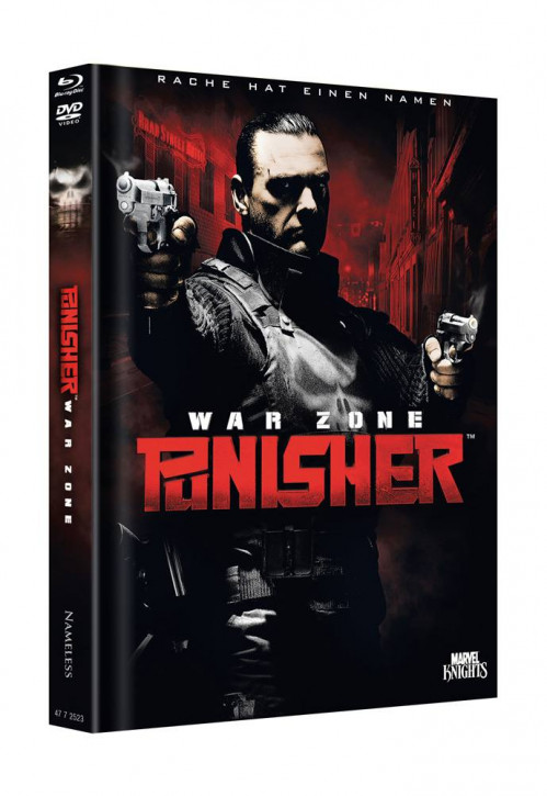 Punisher Warzone - Limited Mediabook Edition - Cover A [Blu-ray+DVD]