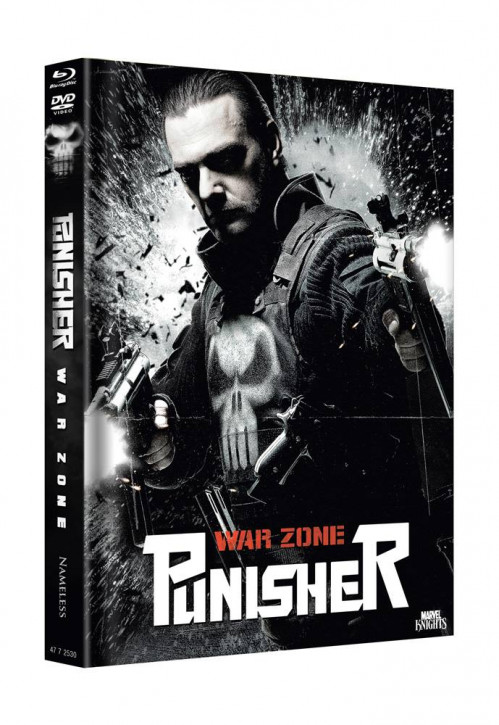 Punisher Warzone - Limited Mediabook Edition - Cover B [Blu-ray+DVD]