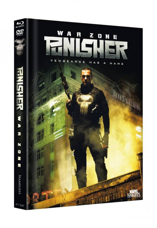 Punisher Warzone - Limited Mediabook Edition - Cover C [Blu-ray+DVD]
