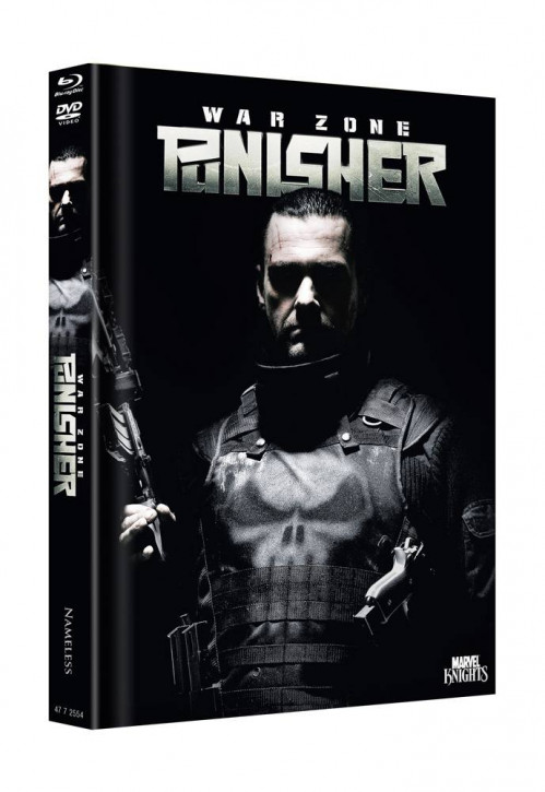 Punisher Warzone - Limited Mediabook Edition - Cover D [Blu-ray+DVD]