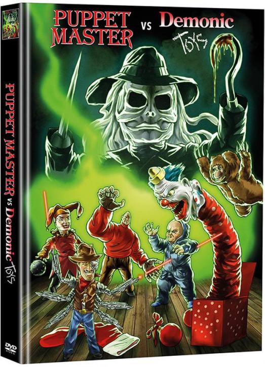 Puppet Master vs. Demonic Toys - Limited Mediabook Edition (Super Spooky Stories #71) [DVD]