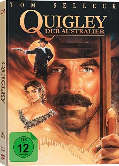 Quigley der Australier - Limited Collector's Edition [Bluray+DVD]