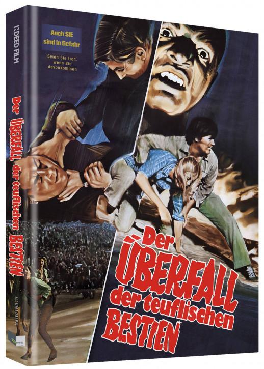 Rabid - Der Überfall der teuflischen Bestien  - Limited Collectors Edition - Cover A [Blu-ray+DVD]