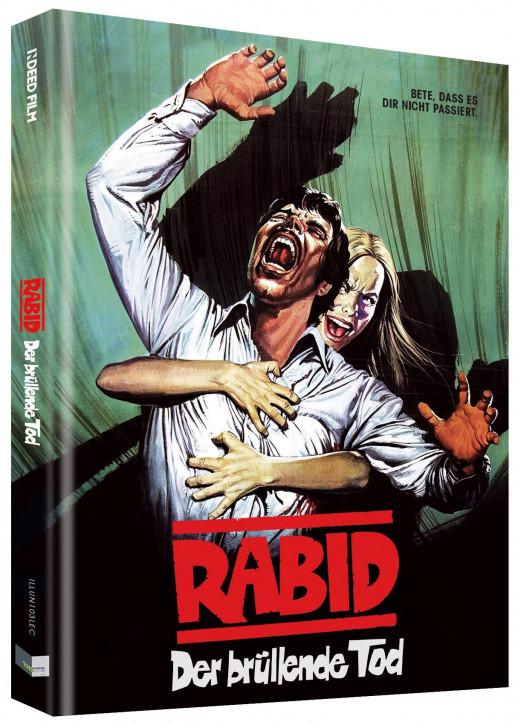Rabid - Der Überfall der teuflischen Bestien  - Limited Collectors Edition - Cover C [Blu-ray+DVD]