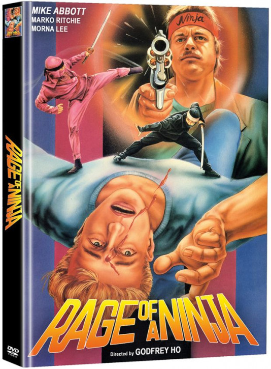 Rage of a Ninja - Limited Mediabook Edition - Cover A [DVD]