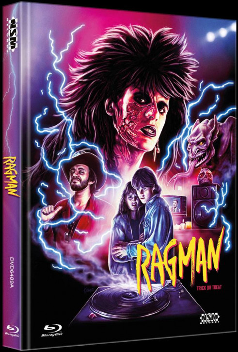 Ragman - Trick or Treat - Limited Collector's Edition - Cover A [Bluray+DVD]