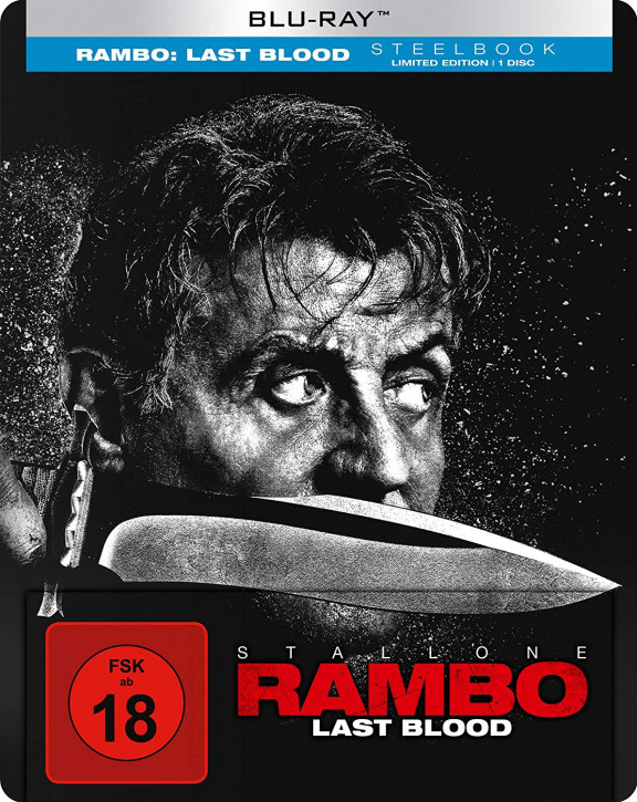 Rambo - Last Blood - Steelbook [Blu-ray]