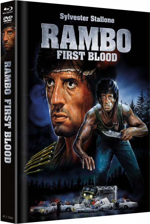 Rambo - Limited Mediabook - Cover B [Blu-ray+DVD]