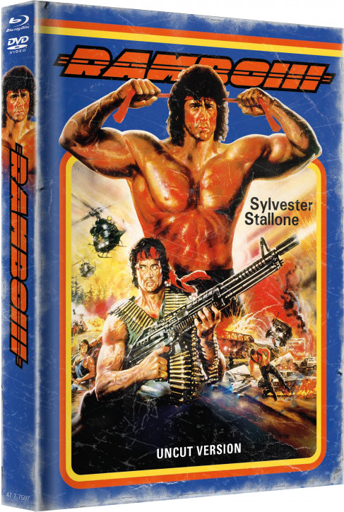 Rambo 3 - Limited Mediabook - Cover A [Blu-ray+DVD]