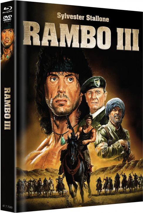 Rambo 3 - Limited Mediabook - Cover B [Blu-ray+DVD]