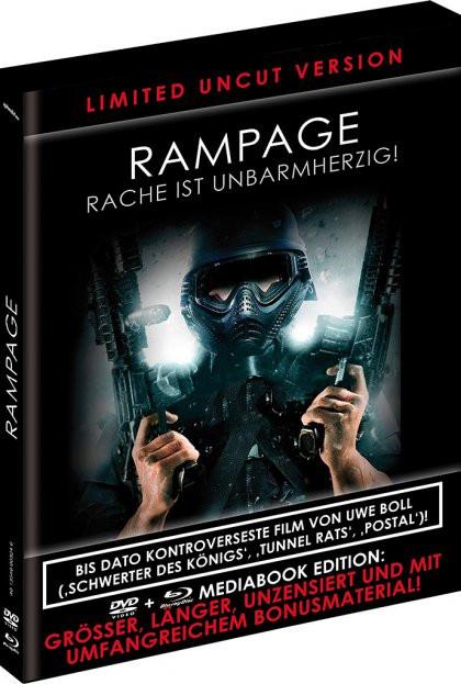 Rampage - Limited Black Book Edition [Blu-ray+DVD]