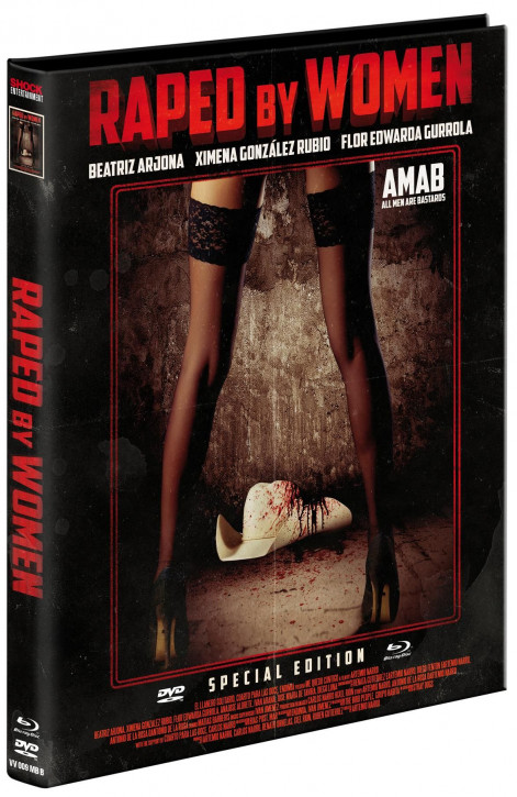 Raped by Women - Limited Edition - Cover B [Blu-ray+DVD]