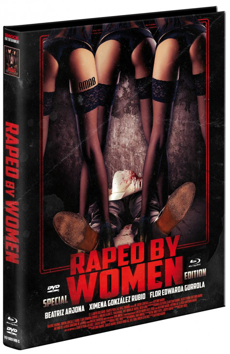 Raped by Women - Limited Edition - Cover C [Blu-ray+DVD]