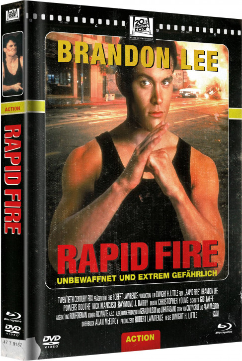 Rapid Fire - Limited Mediabook Edition - Cover D [Blu-ray+DVD]