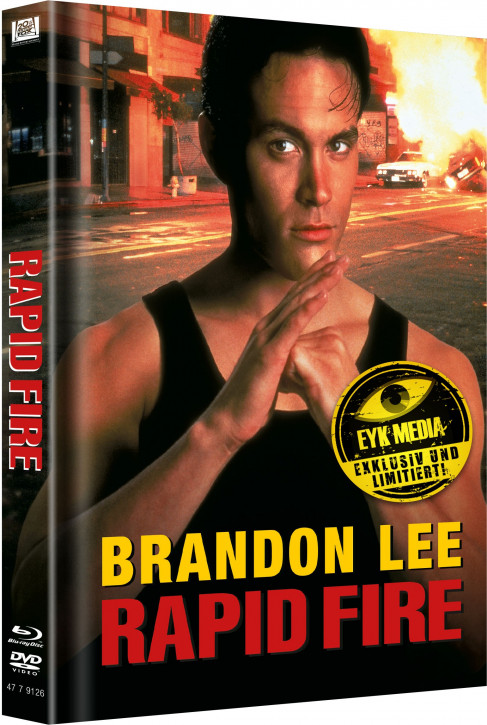 Rapid Fire - Limited Mediabook Edition - Cover A [Blu-ray+DVD]