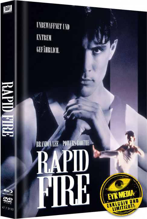Rapid Fire - Limited Mediabook Edition - Cover B [Blu-ray+DVD]