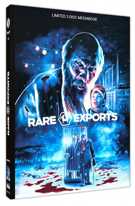 Rare Exports - A Christmas Tale - Limited Mediabook Edition - Cover A [Blu-ray+DVD]