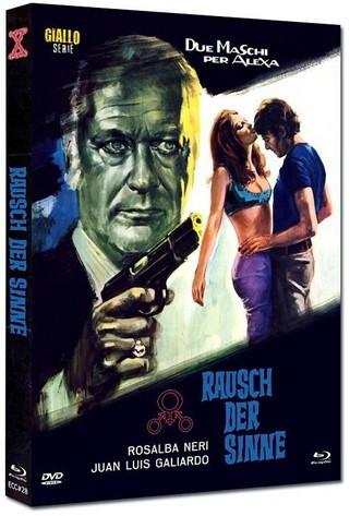 Rausch der Sinne - Eurocult Collection #028 - Mediabook - Cover B [Blu-ray+DVD]