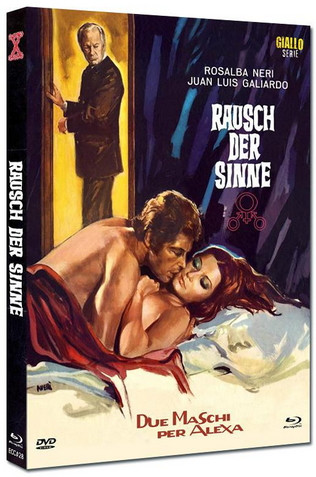 Rausch der Sinne - Eurocult Collection #028 - Mediabook - Cover C [Blu-ray+DVD]