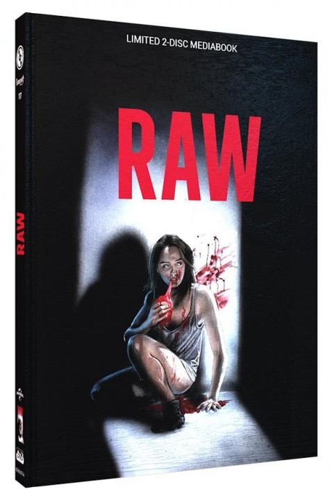 Raw - Limited Mediabook Edition - Cover A [Blu-ray+DVD]