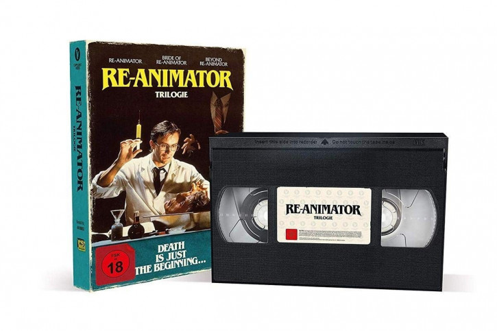 Re-Animator 1-3 - Limited Collector's Edition im VHS-Design [Blu-ray]