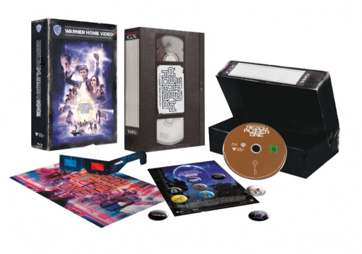 Ready Player One Collector's Edition - Exklusive Blu-ray Edition im VHS Style [Blu-ray]